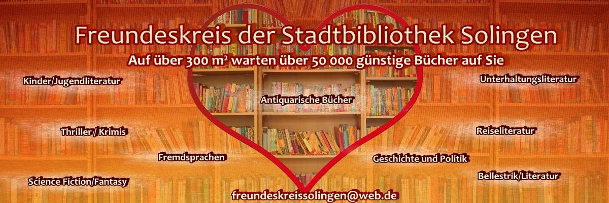 Freundeskreis der Stadbibliothek Solingen