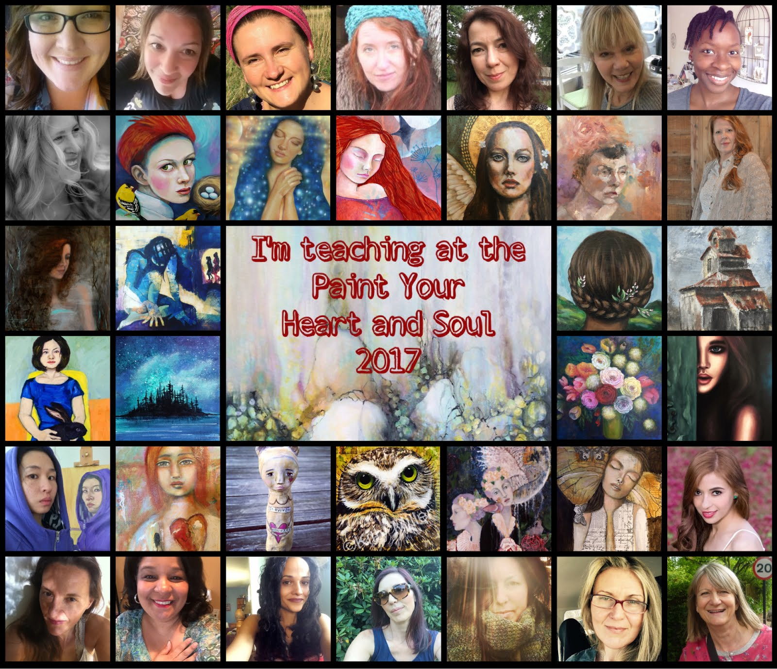 Paint Your Heart and Soul 2017 online class