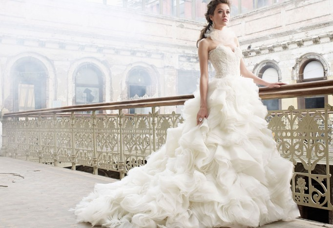 Lazaro Bridal Fashion