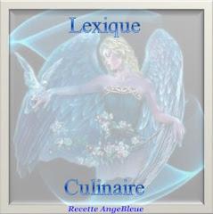 Lexique culinaire