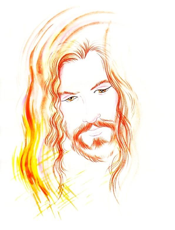 El Rincón de las Melli: Jesús resucitado en color