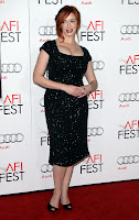 Christina Hendricks at 2012 AFI Festival red carpet
