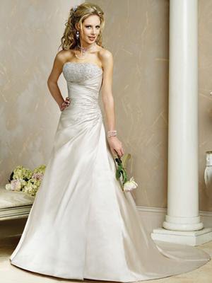 Vestido de noiva, tomara que caia, tradicional