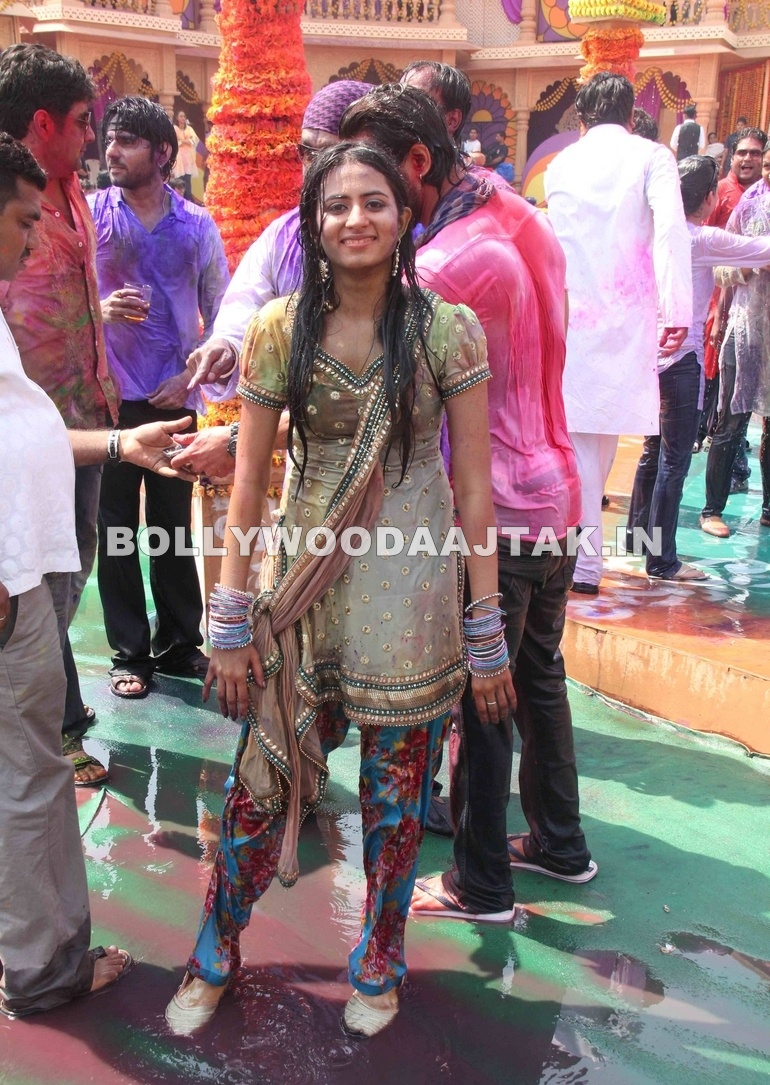 Colors Channel Holi Party 1 - Colors Channel Holi Party 2012  Pics