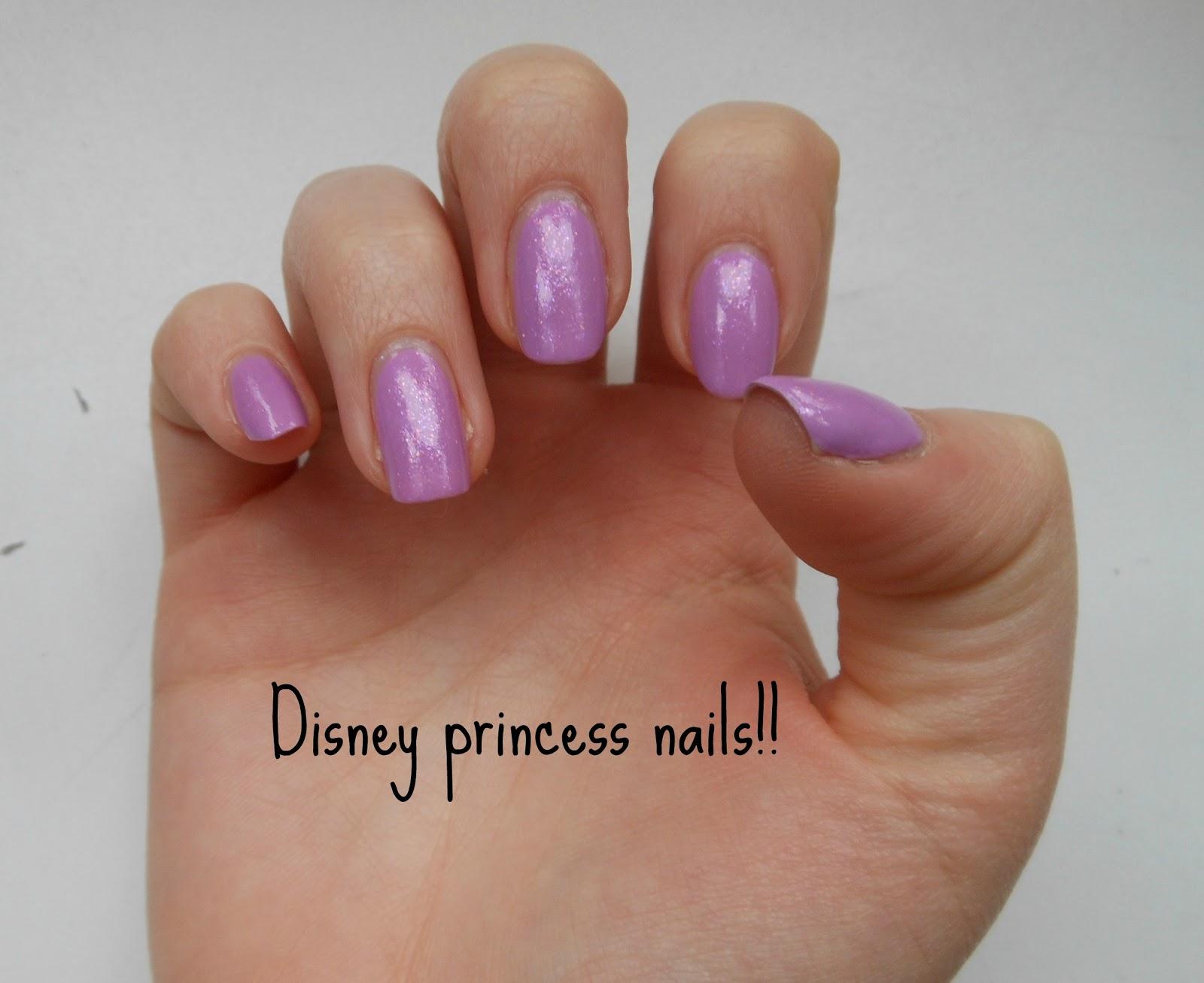 Disney princess nails! - AlbertineSarah