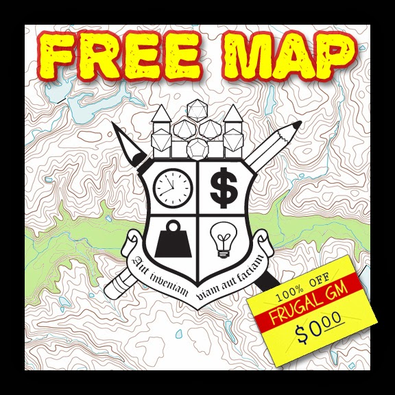 Free Map 025: Another Underground River