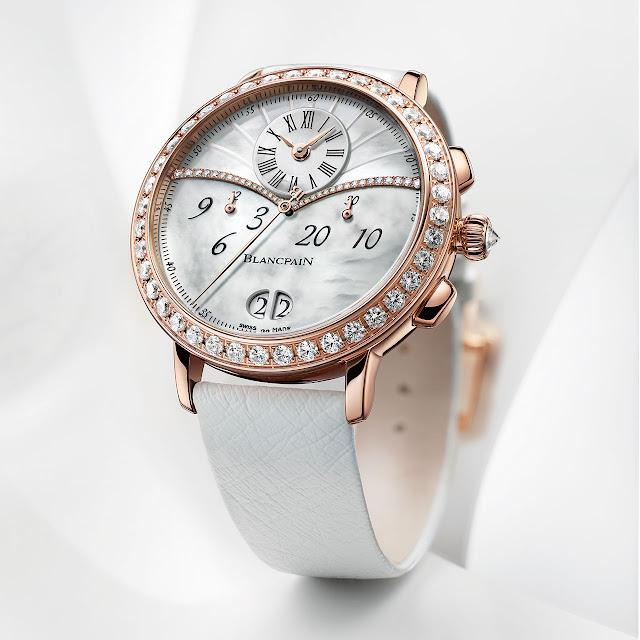 Blancpain Collection Women, Chronographe Grande Date Watch