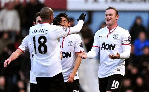 Hasil Pertandingan West Ham United vs Manchester United 24 Maret 2014