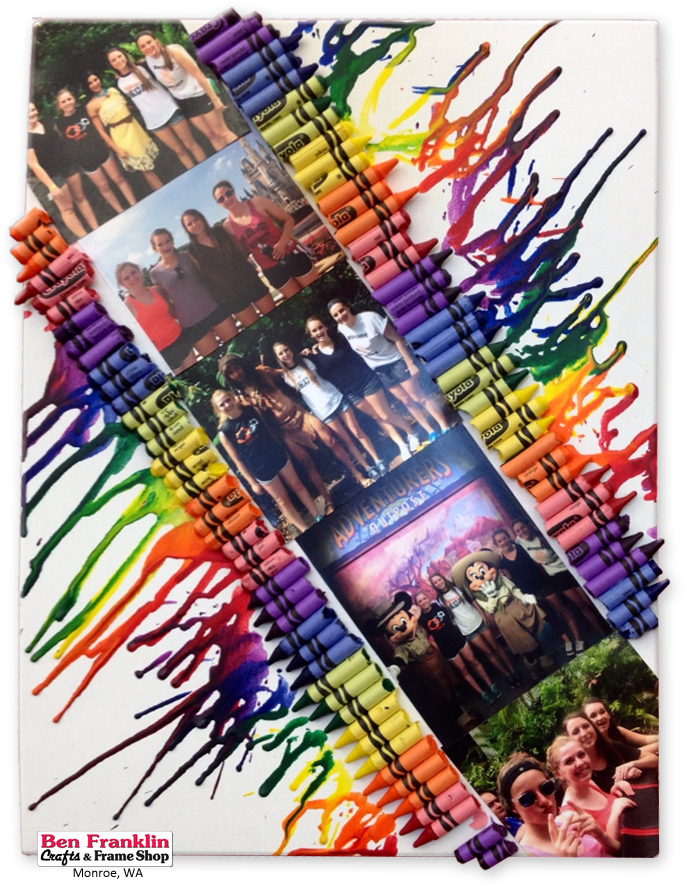 Ben Franklin Crafts And Frame Shop Monroe Wa Diy Melted Crayon