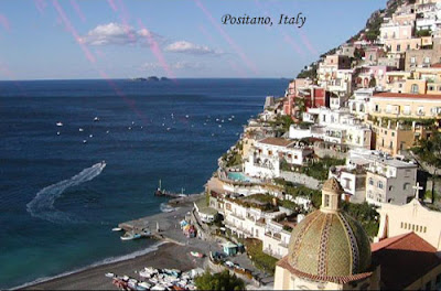 Tourist Place of Positano,Italy