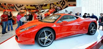traveling to the Ferrari Factory in Maranello, Italy how to get there