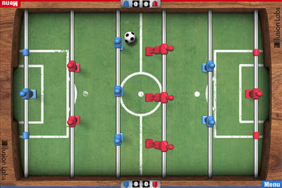 Game Foosball cho iphone va ipod touch
