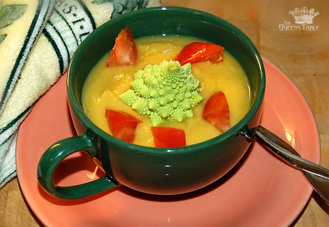 Romanesco Soup... Not Just For Aliens!