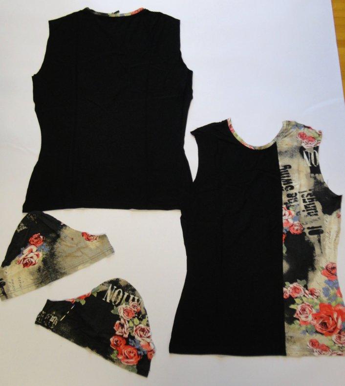 Schnittmuster aus einem Kleidungsstück, Teil 1