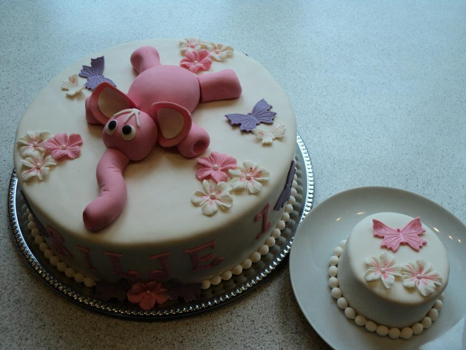 1 års kage