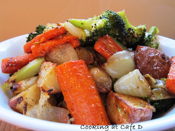 Slow Roasted Vegetables