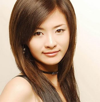 chinese long straight hairstyles
