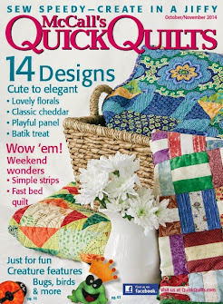 Play it Again Quilt featured in McCall's Quick Quilts