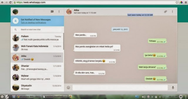 Cara Download dan Install Whatsapp Pada Komputer Desktop