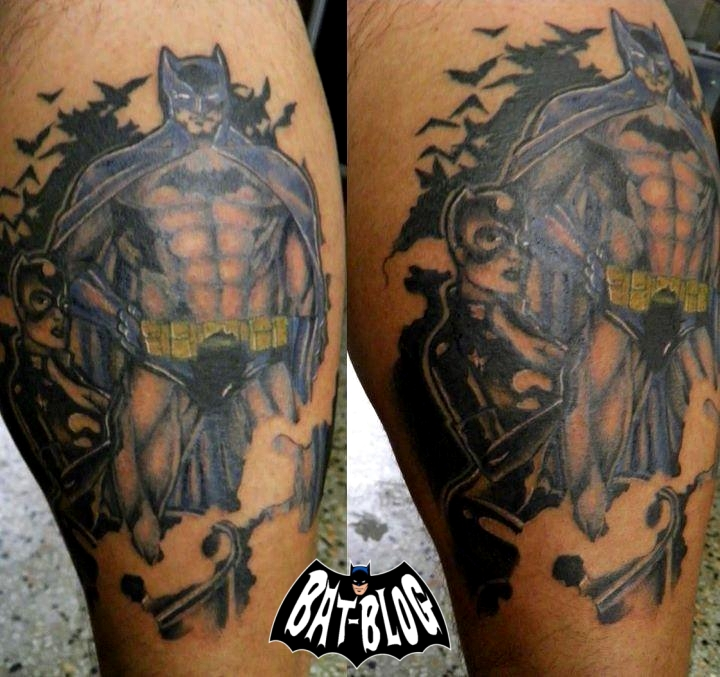 Favourite Tattoos BATMAN TATTOO ART