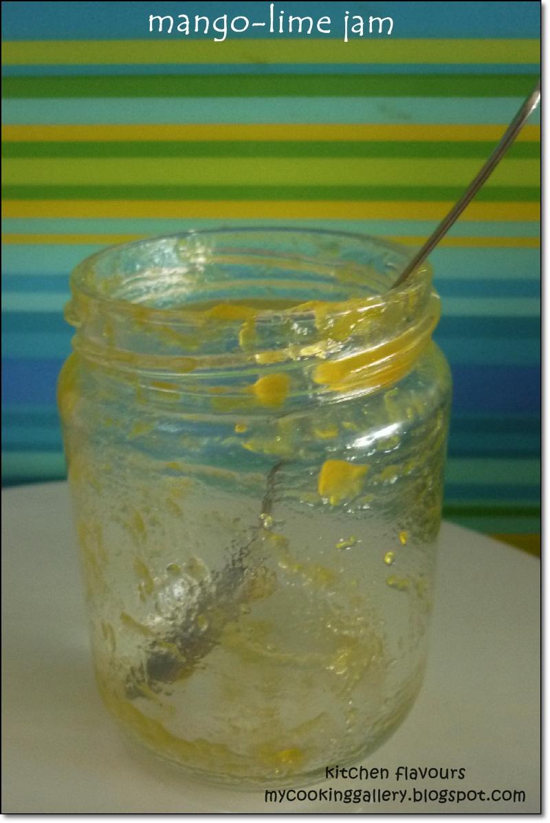 kitchen flavours: Mango-Lime Jam