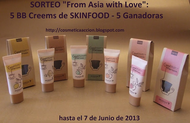 "Sorteo ""From Asia with Love"""