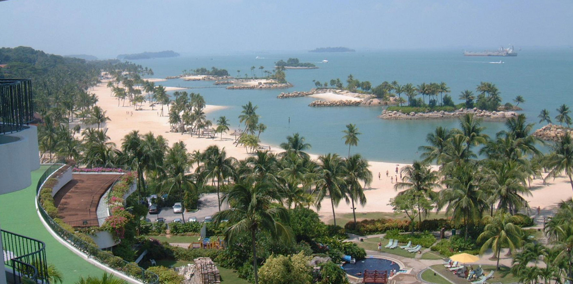 sentosa island - holiday in paradise