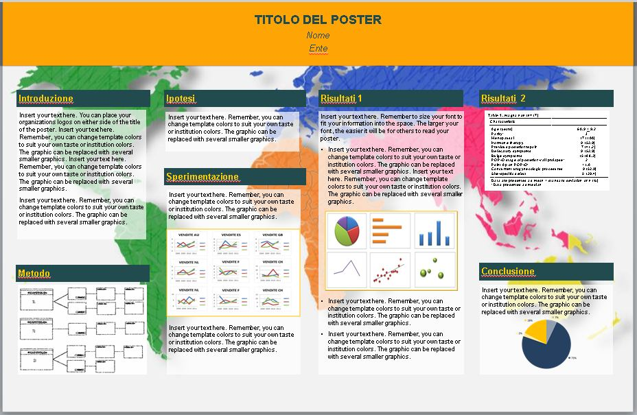 Favorito Realizzare Poster Scientifici con Power Point - Tutto Slide  TX89