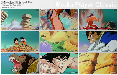 "Download Film / Anime Dragon Ball Kai Episode 14 ""Pertarungan Kamehameha, Perubahan Dari Vegeta!""  Bahasa Indonesia"