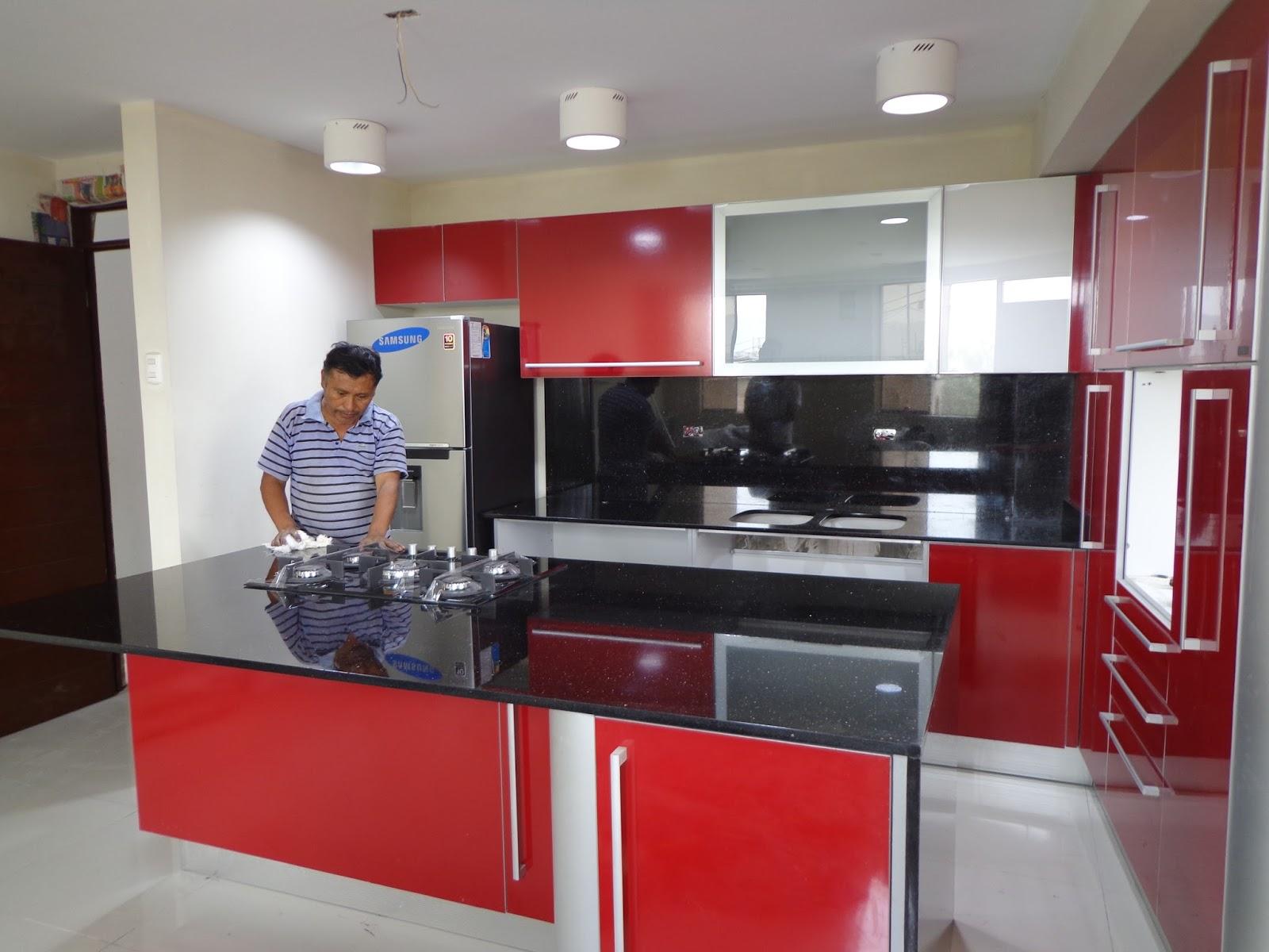 Topes de cocina en granito mantenimiento limpieza - Cuidados del marmol ...