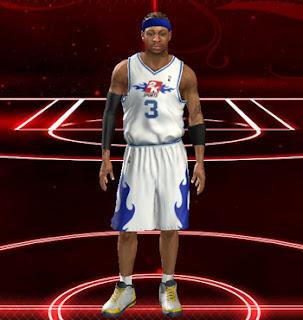 NBA 2K13 Allen Iverson MyCareer MyPlayer Save File