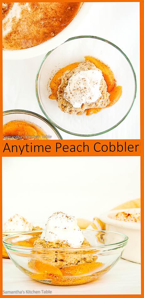 Anytime Peach Cobbler
