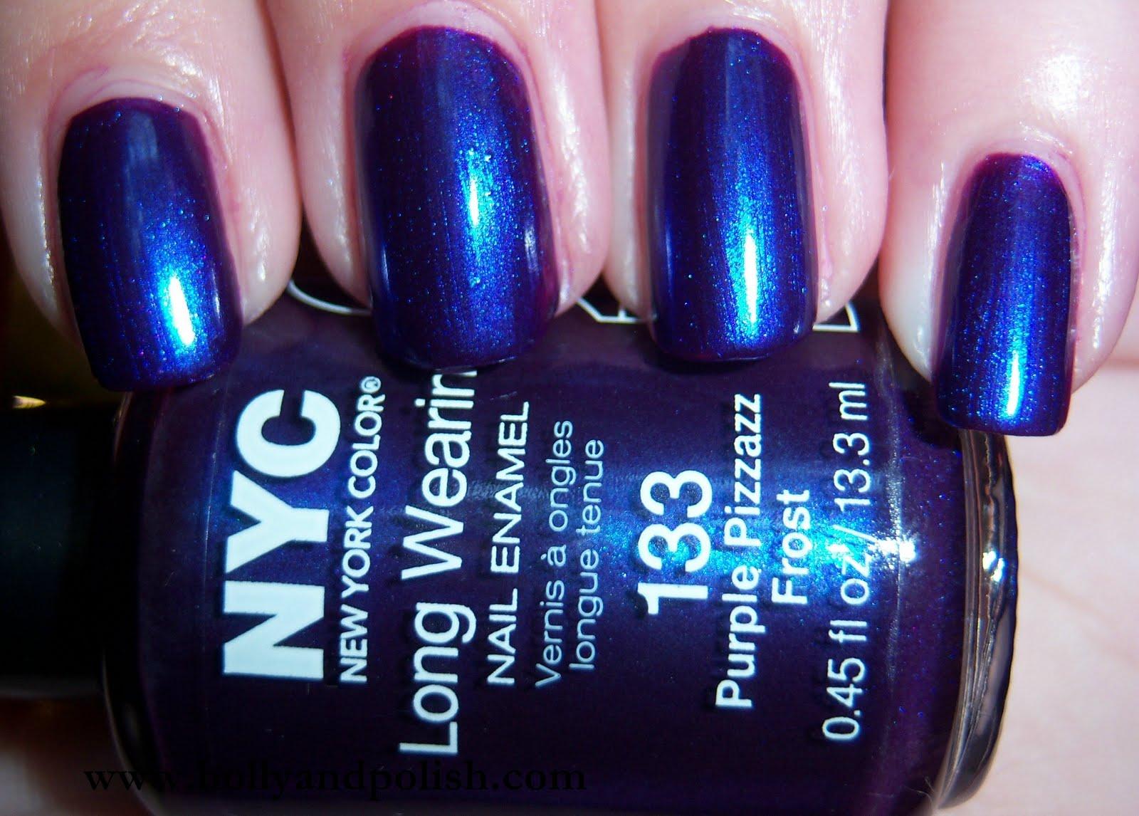 Holly and Polish: A Nail Polish and Beauty Blog: NYC Purple Pizzazz ...