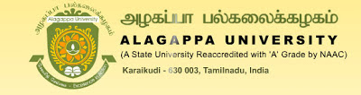 Alagappa University Recruitment of Teaching Faculty