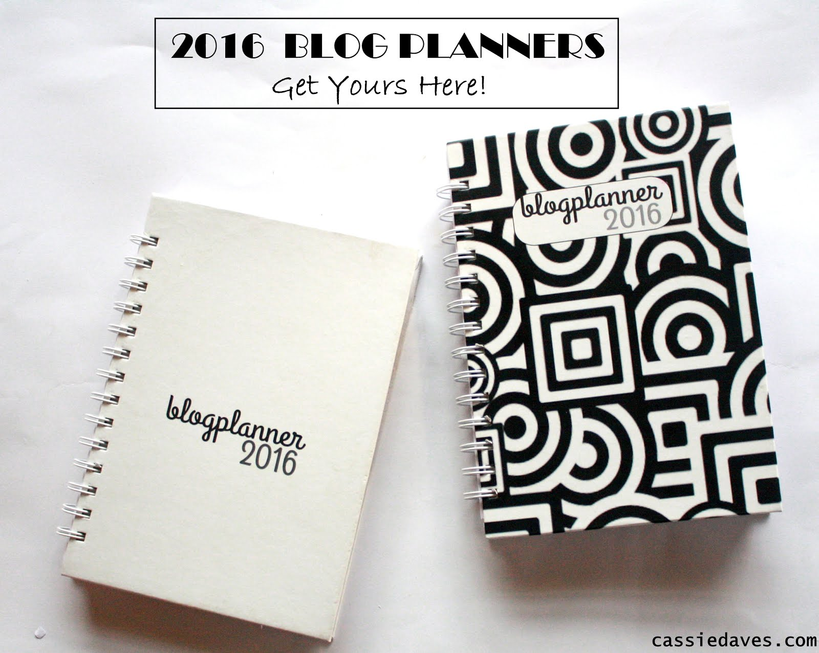 Cassie Daves Blog planner