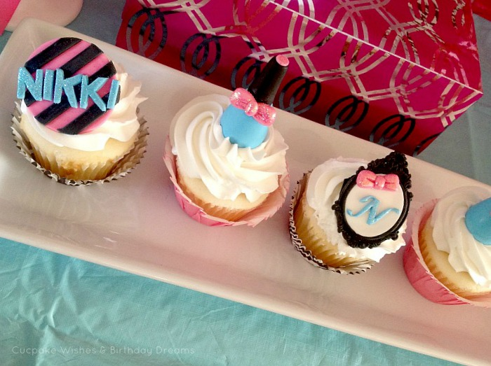 Cupcake Wishes Birthday Dreams Party Recap Monster High Spa Party