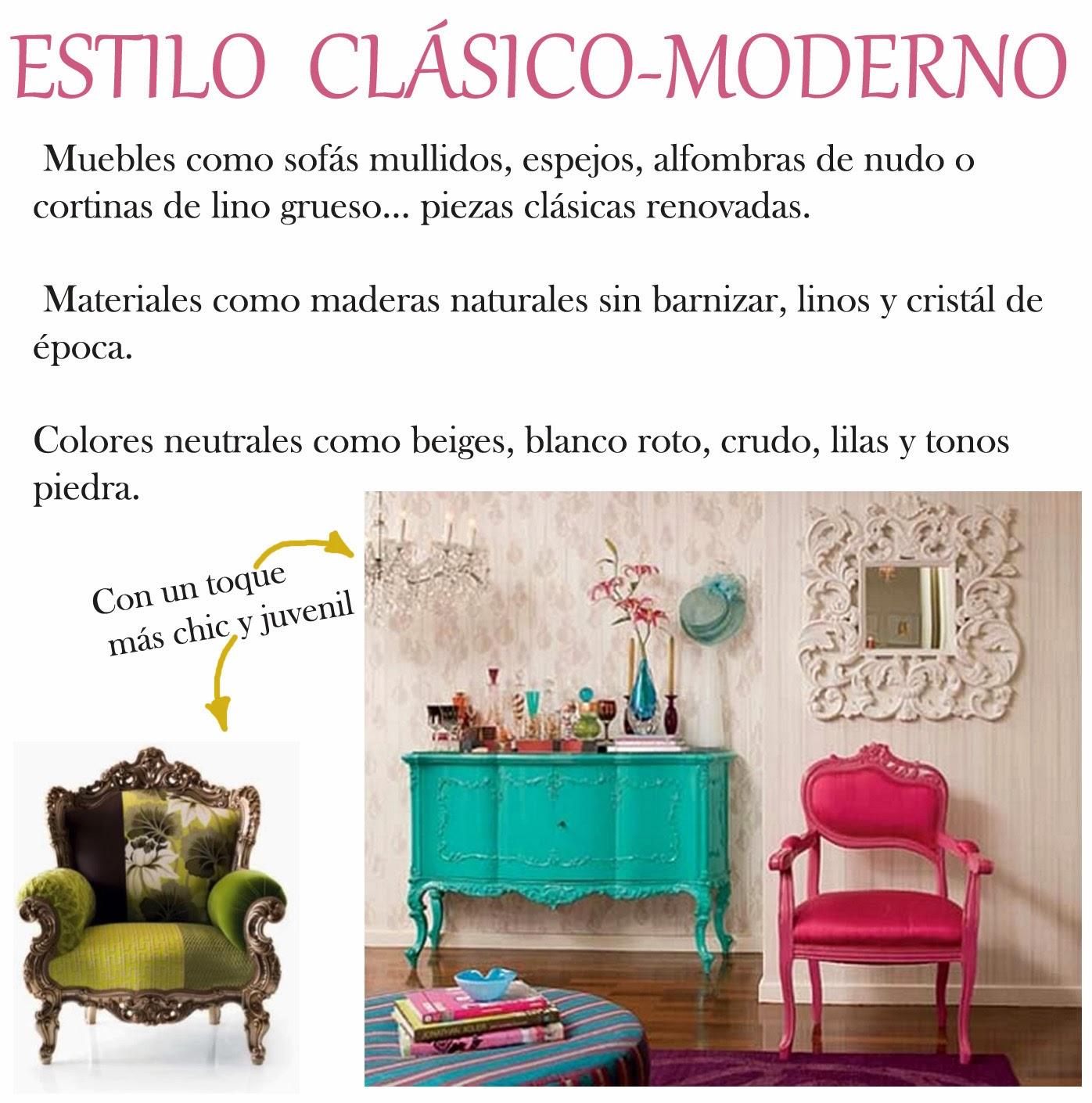 Estilo iii cl sico moderno decoraci n patri blanco for Decoracion estilo clasico moderno