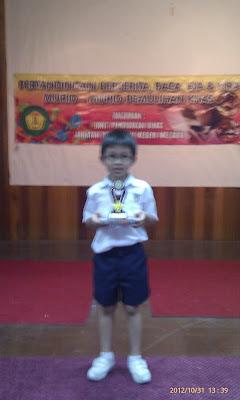 Adik Yap Kon You berjaya menjadi Johan dalam Pertandingan Bercerita Antara Sekolah Dalam Kelompok dan sebagai wakil masuk ke Pertandinagn Bercerita Peringkat Akhir Antara Kelompok Di Dewan Bestari, Melaka.