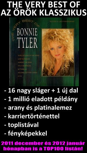 THE VERY BEST OF BONNIE TYLER VOLUME 1. 1993