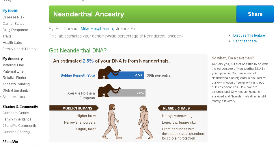 neanderthal genome project