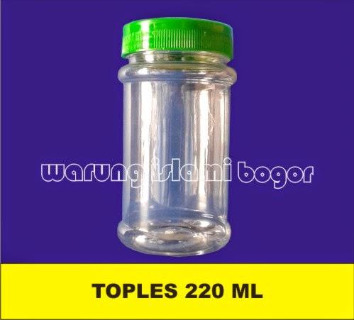 Jual Toples Plastik Selai 220ml