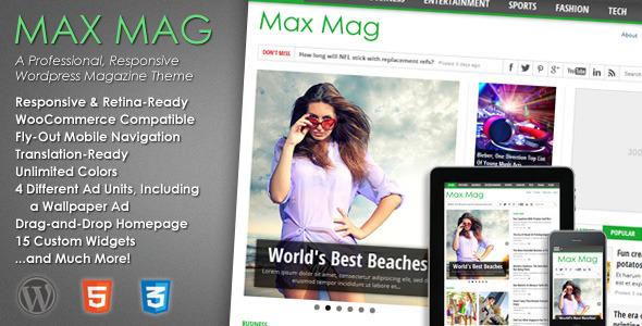 Max Mag Responsive WP Themes