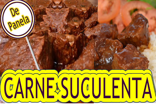 Blog Roxachic  CARNE DE PANELA SUCULENTA COM SUAVE PIMENTA