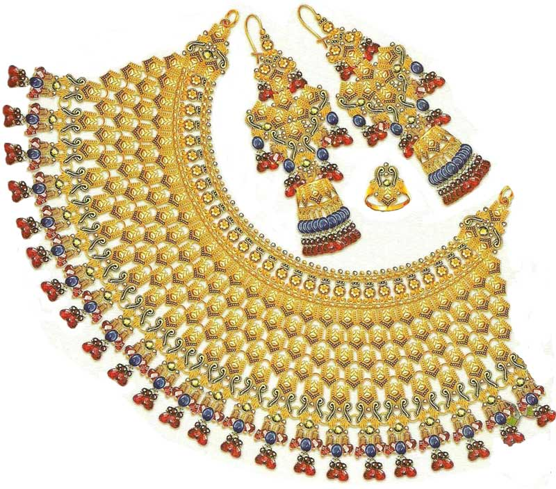 FASHION of Life Style: Gold Necklace Designs