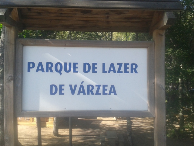 Placa Parque de Lazer de Várzea