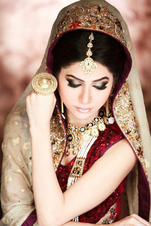 Bridal Makeup Smokey Eye Brown Eyes Looks Tips 2014 Images Natural Look Photos Pics Images ...