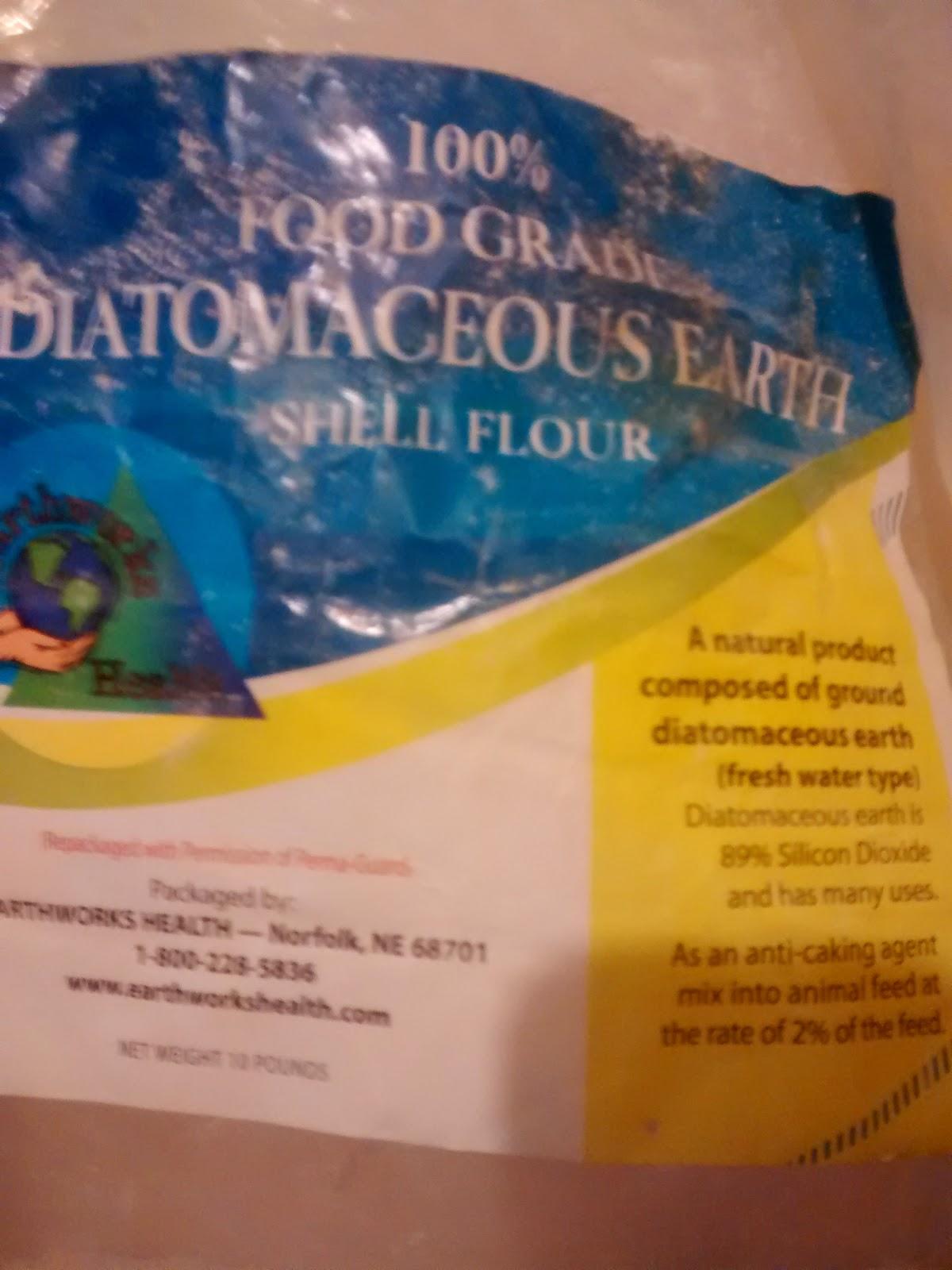 Diatomaceous Earth Package-Basement Flea Treatment