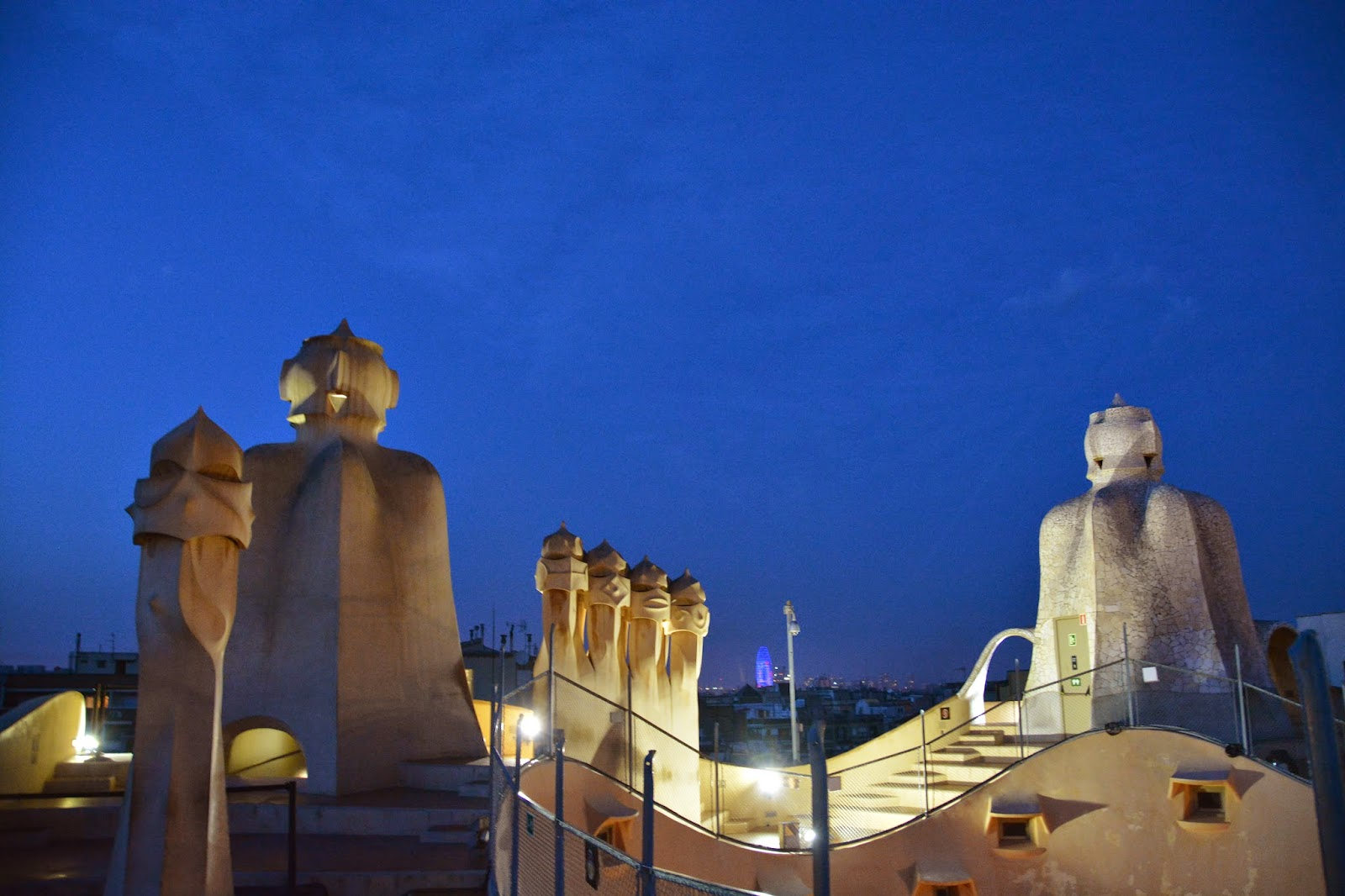 La Pedrera Spain Antoni Gaudi Guadi Catalan architect