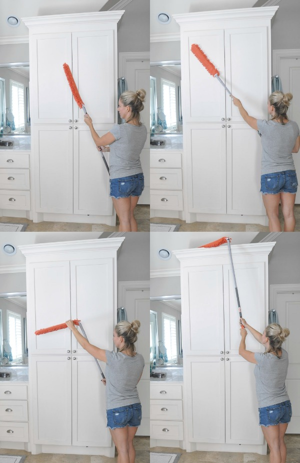 House Cleaning Tips - love this bendable and expandable duster!