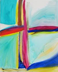 Beautiful Abstract Cross Painting